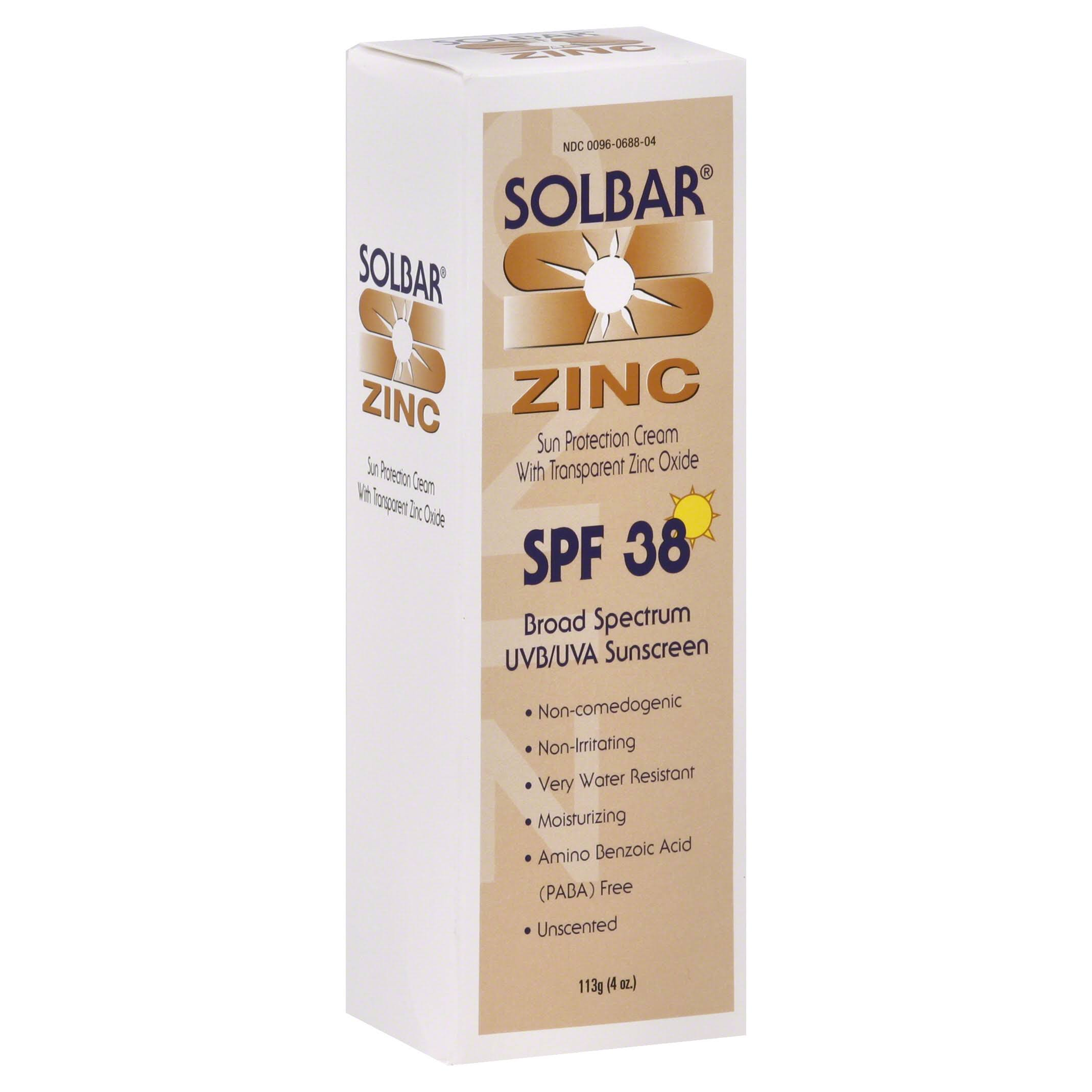 Solbar Solbar Zinc Sunscreen - SPF 38