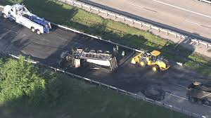 Overturned Dump Truck Spills Ash, Blocks Route 1 Near Christiana ...