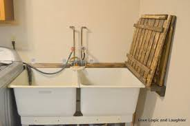 Stainless Steel Laundry Sink With Washboard by Utility Sink Cabinets Laundry Room Amazing Home Design