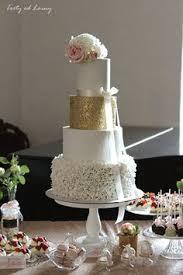 Vintage wedding cake Paris blush wedding cake