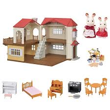 Amazon.com: Calico Critters Red Roof Country Home Gift Set: Toys & Games Calico Critters Tea And Treats Set Walmartcom Baby Kitty Boat And Mini Carry Case Youtube 2 Different Play Sets Together Highchair Cradle With Houses Opening Lots More Stuff Sylvian Families Unboxing Review Playpen High Childrens Bedroom Room Nursery Minds Alive Toys Crafts Books Critter The Is A Fashion Showcase Magic Beans Luxury Townhome Cc1804 Splashy Otter Family Castle Epoch Toysrus