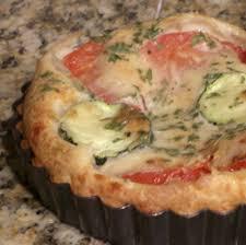 recette mini quiches tomates courgettes sans pâte toutes les