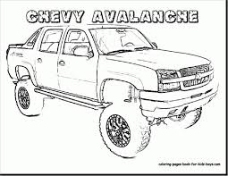 Chevy Sign Coloring Pages To Print 2 T Unique Trucks 7th And ...