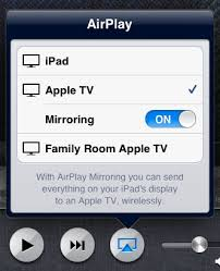 ios Difference between airplay mirroring vs without mirroring