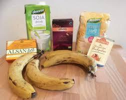 bananen kuchen ohne zucker mit schoko vegan bleib