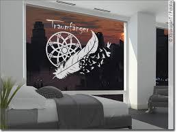 glasfolie traumfänger mit text für federleichte träume