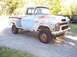 1956 GMC 1/2 Ton With Napco Project Like Apache - Classic Chevrolet ... Best Pickup Truck Buying Guide Consumer Reports Flatbed Trucks For Sale N Trailer Magazine 1986 Chevy Silverado 1ton 4x4 2019 May Emerge As Fuel Efficiency Leader 1954 Roletchevy 1 Ton 3800 Panel Truck Job Rated Dodge 15 Ton Youtube 1948 High Chevrolet Advance Design Wikipedia G7105_chevrolet_4x4_panel_truck 1975 Ton Dump W Hydraulic Tommy Lift Runs Great 58k Used Craigslist