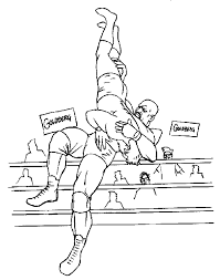 WWE Coloring Pages And Book