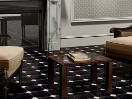 Black And White Stone Floor Design How To Create A Home Improvement With