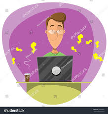Young Cartoon Man Using Laptop Build Stock Vector 741997804 ... Ways To Become A Graphic Designer Wikihow Work With Or Design Firm 6 Genuine At Home Business Models You Need To Know About 100 Jobs From 34 Best The Freelancer Quit Your Job From Start Here Opportunity And At Gallery Interior Ideas 25 Designer Office Ideas On Pinterest Talking Online Awesome Fashion Decorating Emejing Contemporary 46873 Best Images Money Freelance Personal Assistant Character Stock Vector