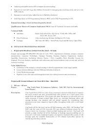 Sample Data Analyst Resume Business Reporting Template Lead Of