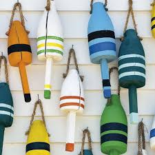 Decorative Lobster Traps Small by Canvas Marine Decoration 2 Lobster Pots Buoys Philip Plisson