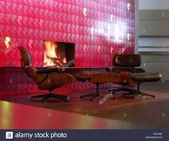 Eames Lounge Chair Stock Photos & Eames Lounge Chair Stock ...