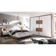 schlafzimmer verona set incl beleuchtung wildeiche weiß