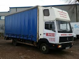 MERCEDES-BENZ 814 SLEEPER POD 20 FT TRUCK WITH TAIL LIFT LIKE MAN ...