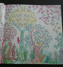 JohannaBasford EnchantedForest ColoringBooks Right Side Of 2pg Johanna BasfordColoring BooksVintage