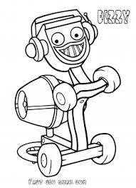 Printable Bob The Builder And Dizzy Coloring Pages For Preschool