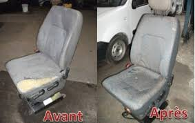 refaire siege voiture réparation réfection siège de camionnette par damien siège