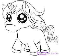 Baby Unicorn Coloring Pages Easy And Reedit