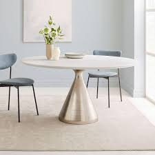 Silhouette%20Pedestal%20Dining%20Table%20-%20Round%20White%20Marble%20(Large) Khloe Round Marble Coffee Table Vida Living Carra Ding In Bone White Oracle 130cm Grey 4 Parker Velvet Knocker Chairs Tulip Tableround Replica Dia1200 Buy 6 Seater Black Set With Marion I Contemporary And Side Chair By Fniture Of America At Del Sol Vesper 51 Tables That Save On Space But Never Skimp For Awesome 1 5m Really Like This Table Chair Combo Probably Don Crema With Freya Selecting Royals Courage