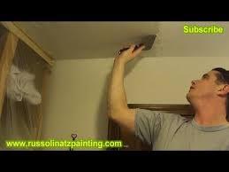 Skip Trowel Over Popcorn Ceiling by Diy Ceiling Repair Skim Coat Over A Painted Popcorn Ceiling