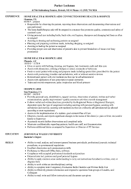Download Hospice Aide Resume Sample As Image File