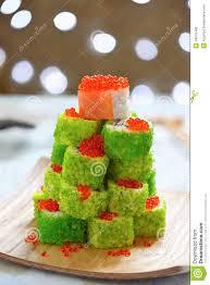 Gumdrop Christmas Tree by Maki Sushi Roll For Christmas Stock Photo Image 44575480