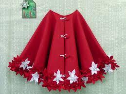 Handmade Christmas Tree Skirt 04