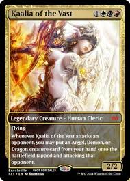 kaalia of the vast never seen this card before but it definitely