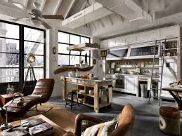 Vintage Industrial Style Kitchen Rustic Design