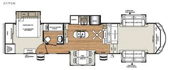 Fifth Wheel Campers With Front Living Rooms by New 2018 Forest River Rv Sandpiper 377flik Fifth Wheel At Big