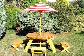 Collapsible Wooden Picnic Table Plans by Outdoor Picnic Table And Bench Set Wooden Picnic Benches Wooden