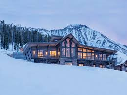 100 Contempory Home Mountain Contemporary With Views Of Madison Range Big Sky