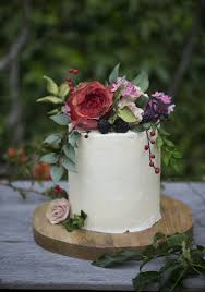 Happyhills Cakes Rustic Wedding Cake