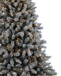 6ft Pre Lit Christmas Trees Black by Frosty Flocked Christmas Tree Treetopia