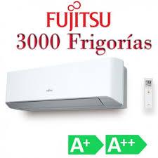 Aire Acondicionado Fujitsu 3000 Frigorías tipo Split Inverter A