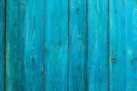 Download Wooden Texture Of An Old Fence Painted Blue Stock Image