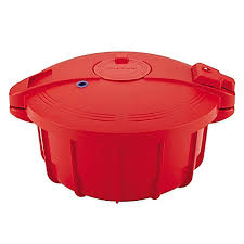 Bed Bath Beyond Pressure Cooker by Silverstone 3 4 Qt Microwave Pressure Cooker In Chili Red Bed
