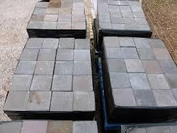 antique reclaimed black brindle quarry floor tiles