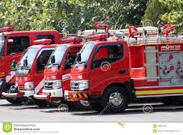 Fire Truck Editorial Stock Image. Image Of Central, Season - 59251934