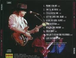 Stevie Ray Vaughan City Of Lights Live In Los Angeles 1988
