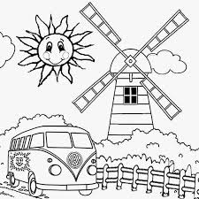 Summer Coloring Pages For Kids To Print Out Color Bros