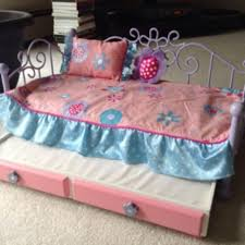 Find more Our Generation Metal Trundle Bed For 18 Doll for sale at