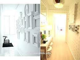 Decorating Ideas For Small Hallways Decor Hallway Narrow Design