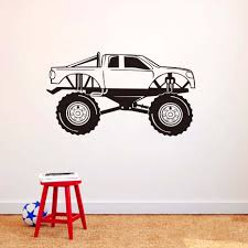 Monster Truck Wall Decal Vinyl Racing Car Stickers Art Murals Garage ... Cars Wall Decals Best Vinyl Decal Monster Truck Garage Decor Cstruction For Boys Fire Truck Wall Decal Department Art Custom Sticker Dump Xxl Nursery Kids Rooms Boy Room Fire Xl Trucks Stickers Elitflat Plane Car Etsy Murals Theme Ideas Racing Art