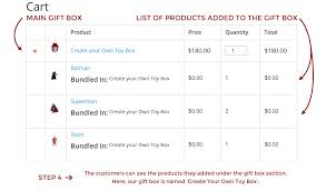 woocommerce custom product boxes for assorted bundles