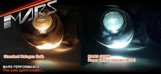 mars 5800k 100w hid xenon bright h9 halogen car lights