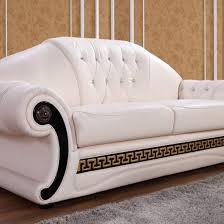 Cream Leather Sofa Set Shop for Affordable Home Furniture Decor