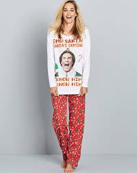 elf u0027santa u0027s coming u0027 pyjama set simply be