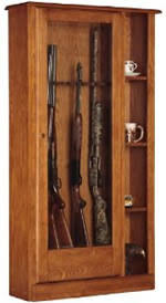 Diy Gun Rack Plans by How To Build A Gun U0026 Rifle Cabinet 7 Free Plans